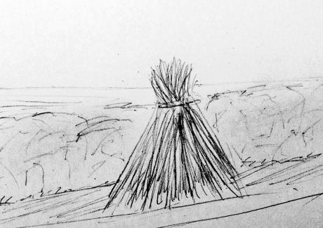 Guy Sherwin: Connemara drawing